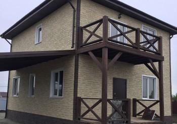 Каркасный дом в Выборге>