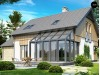 Проект уютного функционального дома с застекленной террасой - Z118