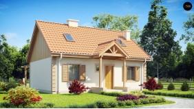 Функциональный и уютный дом с дополнительной спальней на первом этаже. Простой и экономичный в строительстве.