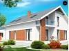 Проект дома со встроенным гаражом и двумя спальнями на первом этаже - Z161