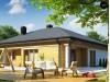 Проект Z204 GP Вариант проекта одноэтажного дома Z204 с гаражом для одной машины.  Проекты домов и гаражей