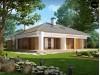 Практичный одноэтажный дом с гаражом, с возможностью адаптации мансарды - Z206