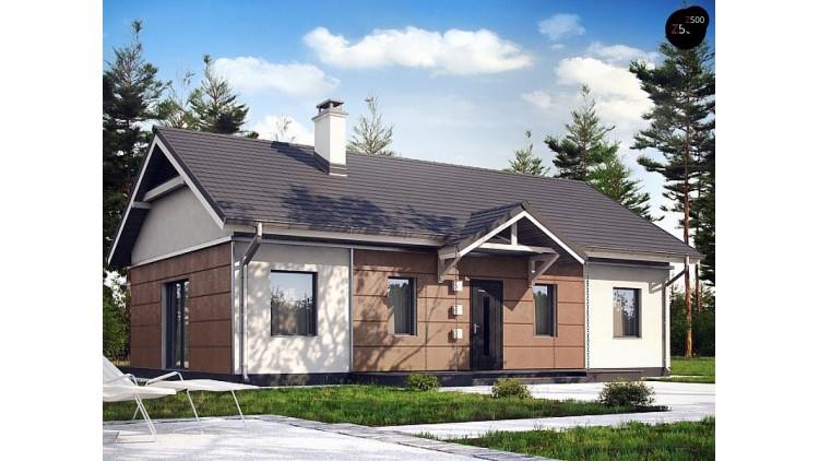 Проект Z241 S Вариант проекта дома Z241 адаптированного под сейсмику  Проекты домов и гаражей