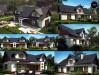 Проект двухквартирного дома с общими входом и техническим помещением - Z247