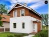 Проект двухэтажного дома для узкого участка - Z25