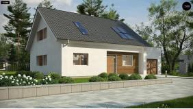 Проект Z266 A Версия типового проекта Z266 c изменениями в планировке  Проекты домов и гаражей