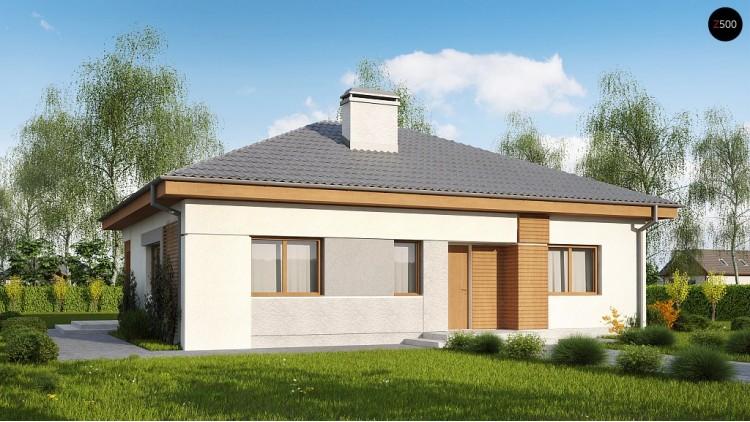 Проект Z273 a Увеличенная версия проекта Z273.  Проекты домов и гаражей