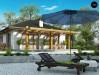 Проект Z328 Одноэтажный коттедж с четырехскатной кровлей  Проекты домов и гаражей