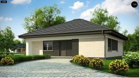 Проект Z332 D Проект компактного и функционального одноэтажного дома  Проекты домов и гаражей