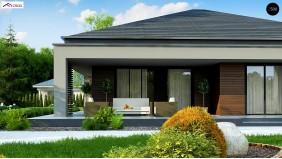 Проект Z377 B Увеличенная версия компактного дома z377  Проекты домов и гаражей