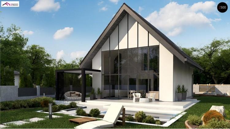 Проект Z440 Проект компактного уютного дома со вторым светом  Проекты домов и гаражей