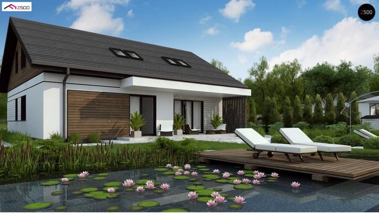 Проект Z462 Комфортный просторный дом с одноуровневой планировкой.  Проекты домов и гаражей