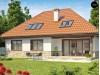 Проект комфортабельного дома с необычной планировкой второго этажа - Z83