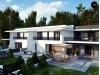 Проект Zb27 Современный двухсемейный дом с отдельными входами  Проекты домов и гаражей
