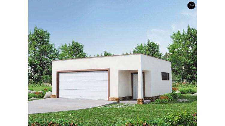 Проект Zg21 Комфортный гараж на две машины  Проекты домов и гаражей