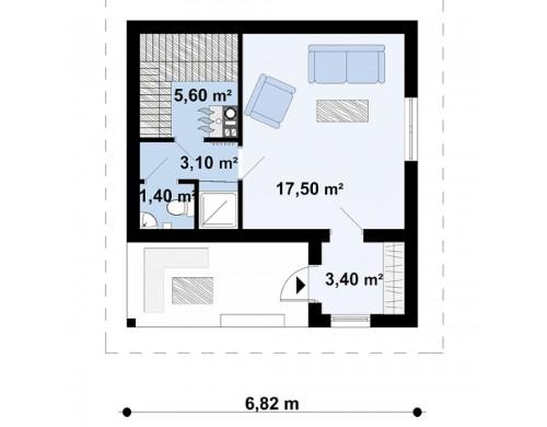Проект Zp2  Проекты домов и гаражей