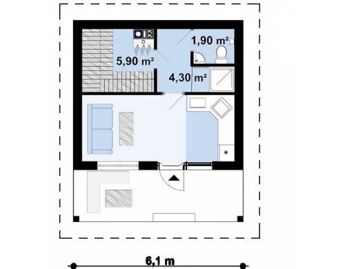 Проект Zp3  Проекты домов и гаражей