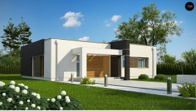 Проект Zx105 B Увеличенная версия проекта Zx105 с гардеробными в каждой спальне.  Проекты домов и гаражей