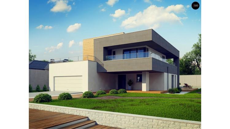 Проект Zx108 2M Современный двухэтажный дом на две семьи  Проекты домов и гаражей
