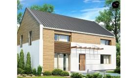 Проект Zx11 v3 Одна из версий проекта компактного двухэтажного дома zx11  Проекты домов и гаражей