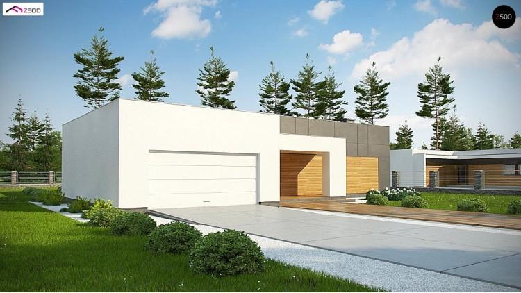 Проект Zx133 Оригинальный дом в современном стиле  Проекты домов и гаражей