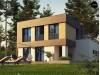 Проект Zx134 Двухэтажный дом с гаражом на две машины  Проекты домов и гаражей