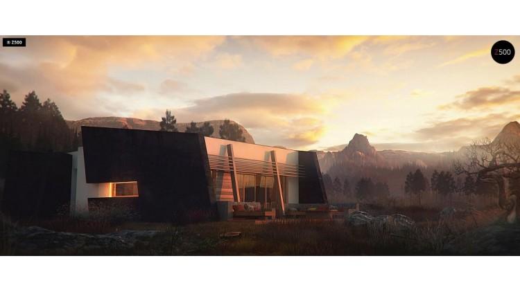 Проект Zx180 Современный одноэтажный дом в стиле минимализм  Проекты домов и гаражей