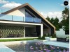 Проект Zx250 Современный мансардный дом со вторым светом  Проекты домов и гаражей