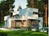 Проект Zx46 minus Уменьшенный вариант двухэтажного проекта ZX46 с гаражом  Проекты домов и гаражей