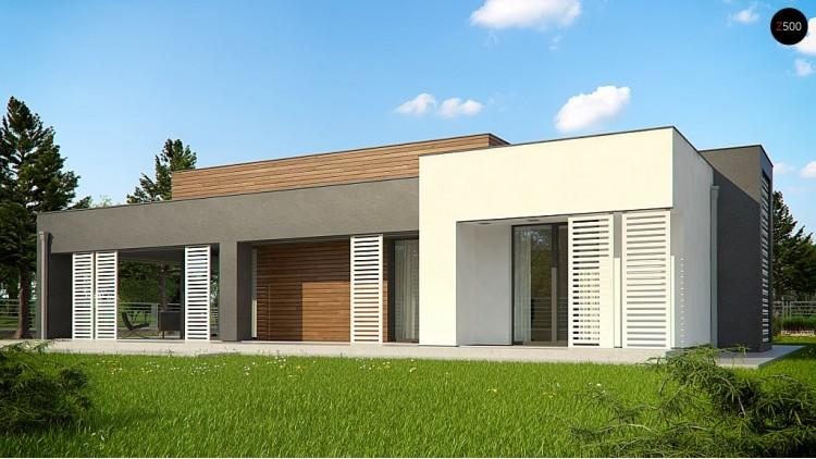 Проект Zx65 + Версия проекта Zx65 увеличена по площади  Проекты домов и гаражей