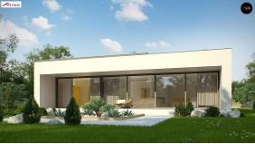 Проект Zx72 minus Уменьшенная версия проекта Zx72.  Проекты домов и гаражей