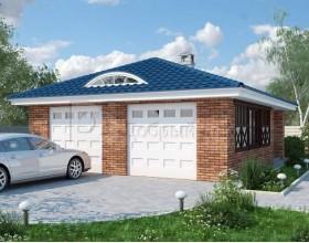 KD-003 - проект гараж предназначенный для двух автомобилей
