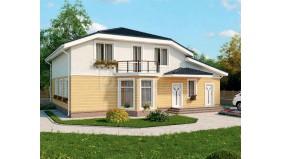 KD-028 - проект проект современного двухэтажного дома
