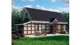 KD-036 - проект уютный семейный дом на 2 этажа