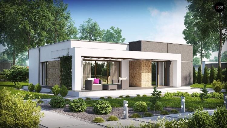 Проект дома PB-007 19,34×18,7m 86,1 м² , 1 этаж