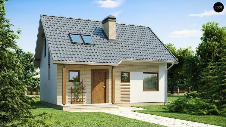 Проект дома PB-020 8.96x7.08m 75,8 / 91,5 м² , 2 этажа